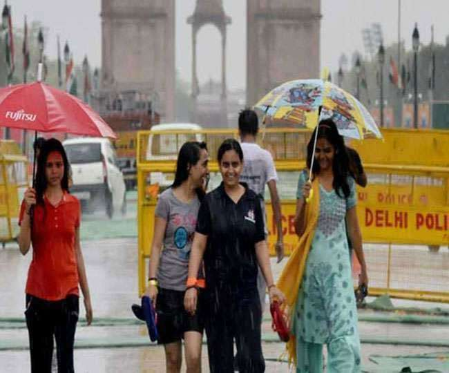Delhi-NCR Weather Forecast: Light to moderate rainfall expected in Delhi today; check out the last update here